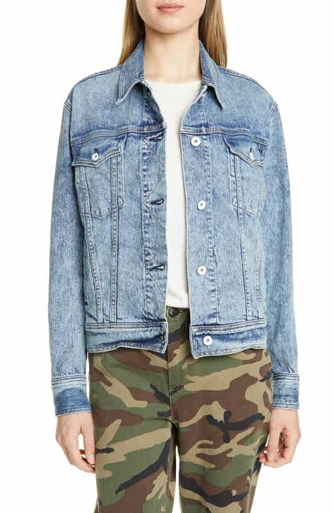 dad876246eae5 rag & bone Oversize Denim Trucker Jacket