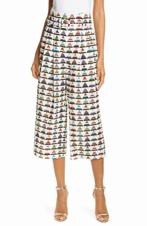 96d07440f Ted Baker London Colour by Numbers Boa Triangle Print Crop Pants