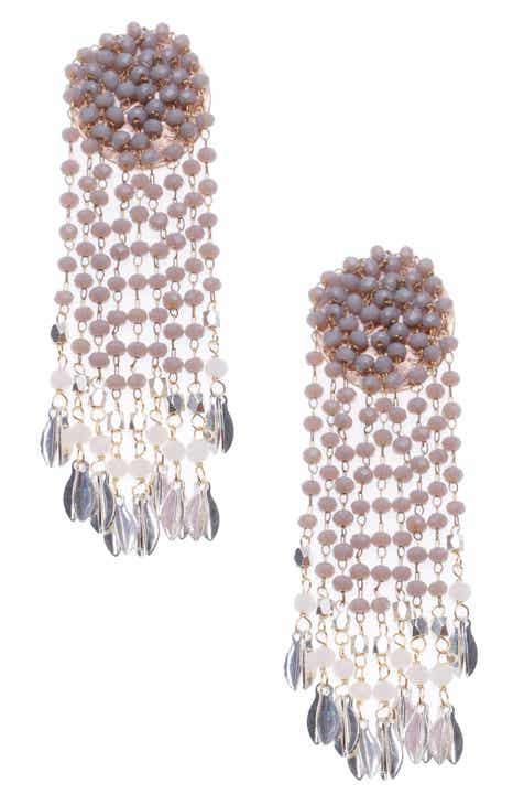 b88c74c29 Nakamol Design Czech Crystal Drop Earrings