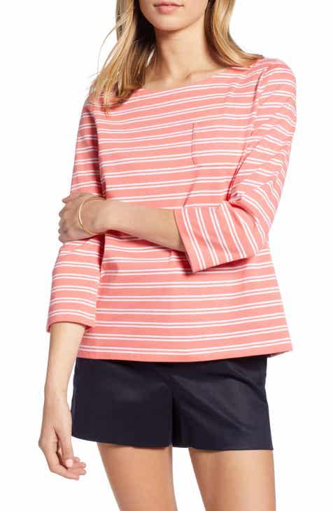 4b6965eea8c 1901 Stripe Pocket Top (Regular & Petite)