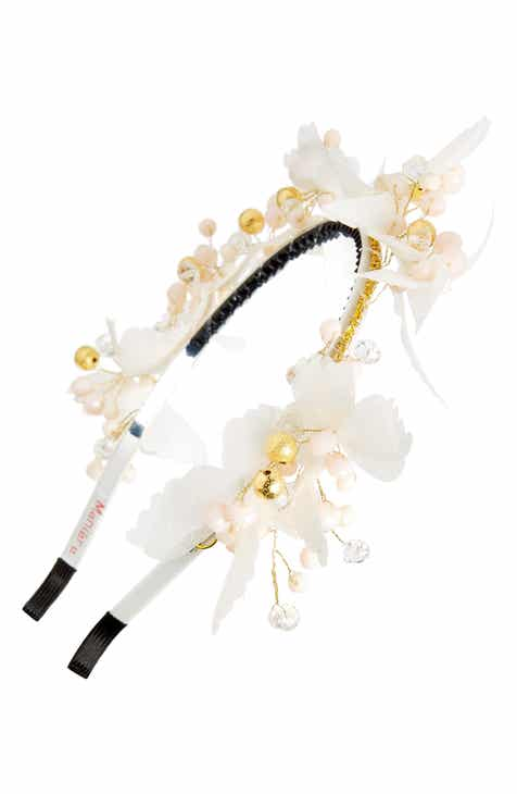 25bde73d5 Manière Flower Girl Butterfly Headband (Kids)
