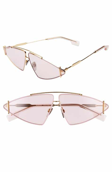 e1a005260831 Burberry 68mm Oversize Aviator Sunglasses
