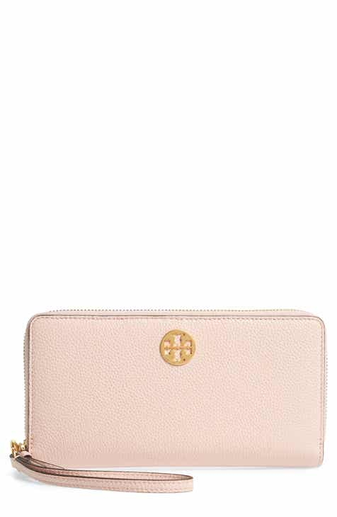 1a3f82813f4 Tory Burch Everly Leather Passport Continental Wallet