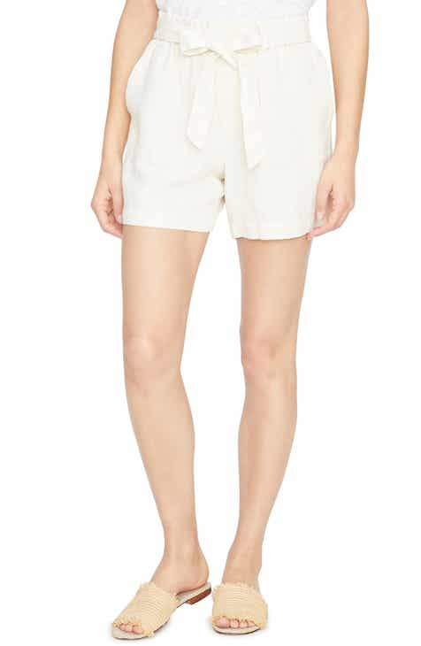 12043e6f7dcb Sanctuary Daydreamer Tie Waist Washed Linen Shorts (Regular   Petite)