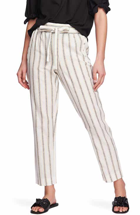 509f198f3b STATE Cabana Stripe Straight Leg Pants