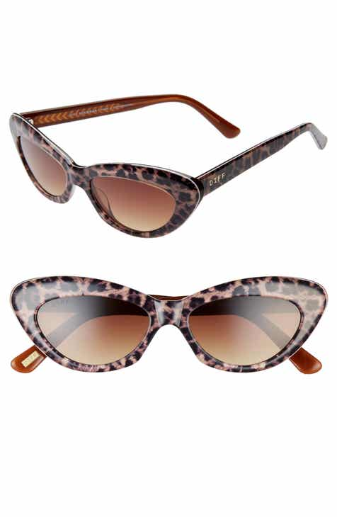 8a102e1ad9 DIFF Cleo 48mm Cat Eye Sunglasses