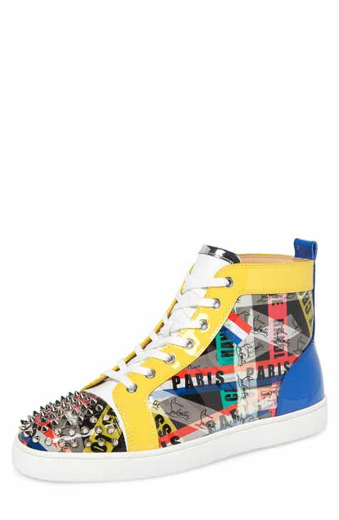 c9c0a6a86e6d Christian Louboutin Louis Spikes High Top Sneaker (Men)