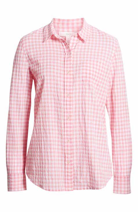 176015a408bf3 1901 Classic Boyfriend Shirt (Regular   Petite)