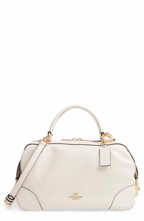 de89d4af604c COACH Aidy Leather Satchel
