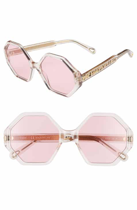 6c57c521755a Chloé Willow 55mm Octagonal Sunglasses