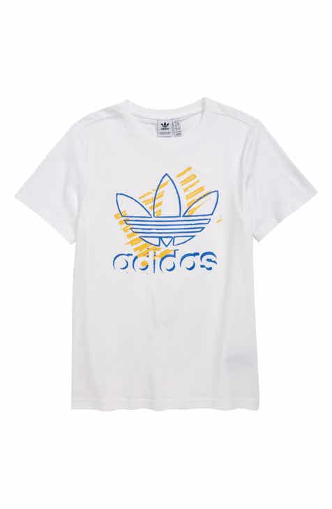 9b18a248ea adidas Originals Trefoil Art T-Shirt (Big Boys)