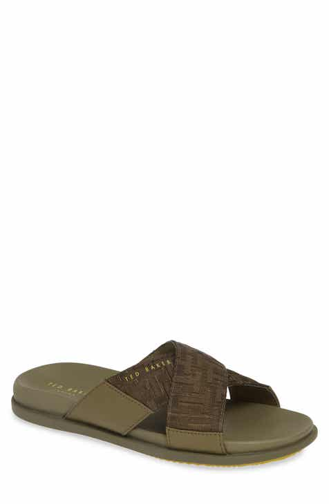 50acf4c668eb Ted Baker London Mablis Cross Strap Slide Sandal (Men)