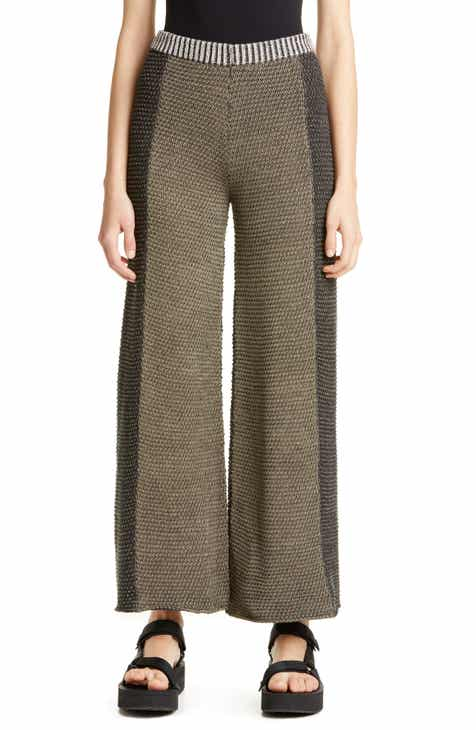 Eckhaus Latta Sweater Knit Culottes by ECKHAUS LATTA
