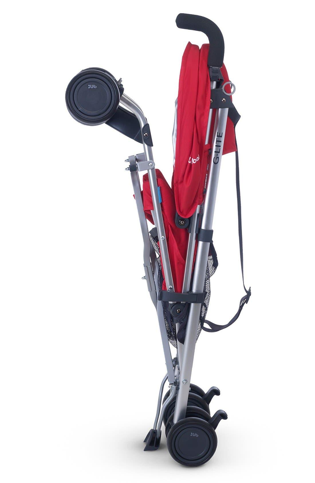 2015 G-LITE - Aluminum Frame Stroller,                             Alternate thumbnail 3, color,                             Denny Red