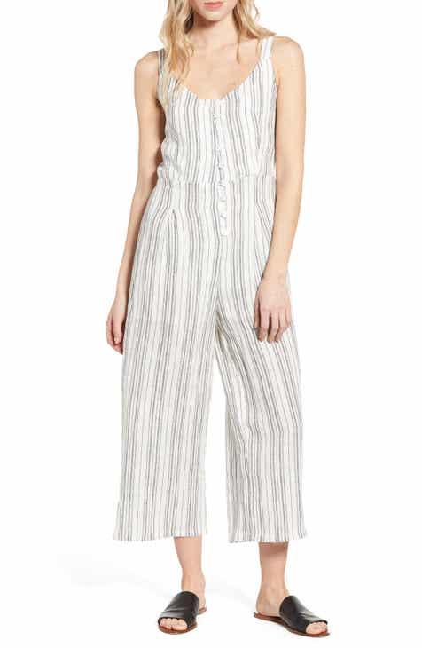 d8d03b6a86 Heartloom Melina Crop Linen Jumpsuit