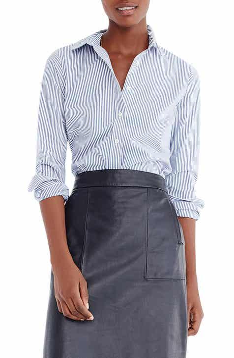 5e823824 J.Crew Slim Stretch Perfect Classic Stripe Shirt