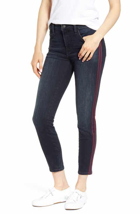 Mavi Jeans Tess Side Stripe Skinny Jeans (Ink Stripe) by MAVI