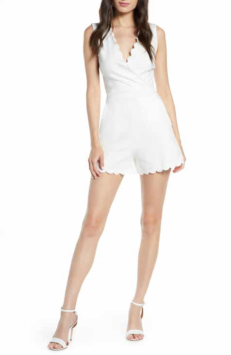 French Connection Lula Scallop Knit Romper by FRENCH CONNECTION