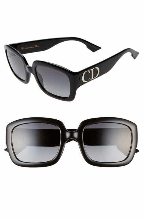 a950a99444 Dior 54mm Gradient Square Sunglasses.  375.00. Product Image. BLACK  YELLOW  RED HAVANA