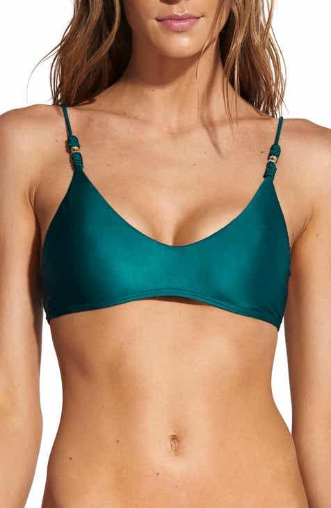 b271eb88098 ViX Swimwear Ocean Luli Trim Roll Bikini Top