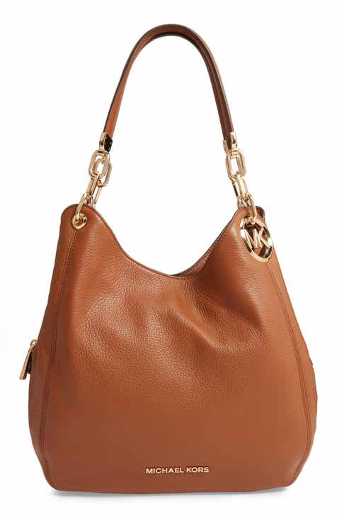 9a4aa7630ebc MICHAEL Michael Kors Lillie Large Leather Shoulder Bag