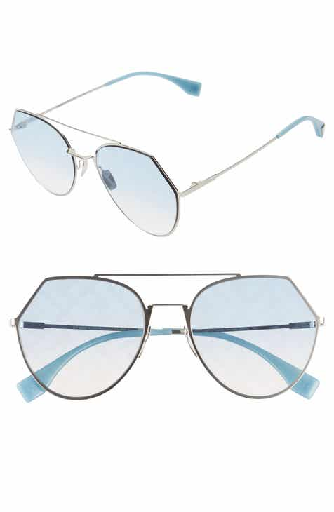 f7652a1b279fd Fendi Eyeline 55mm Sunglasses