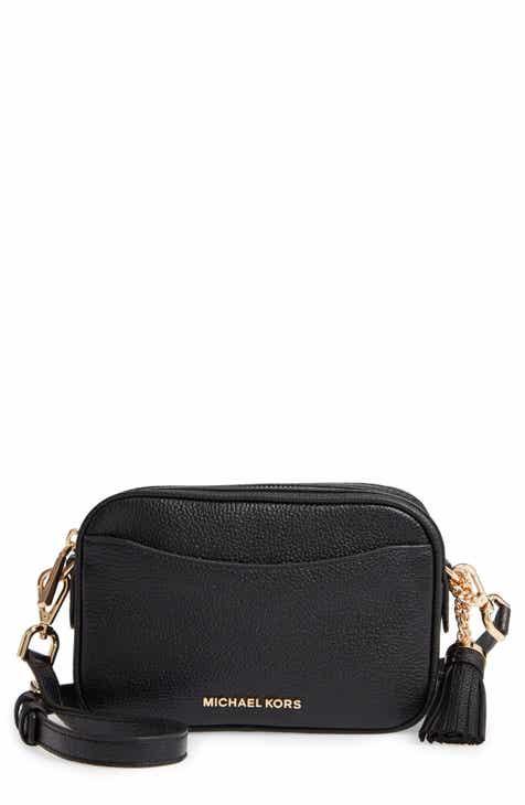 b62368953e9e MICHAEL Michael Kors Leather Camera Belt Bag