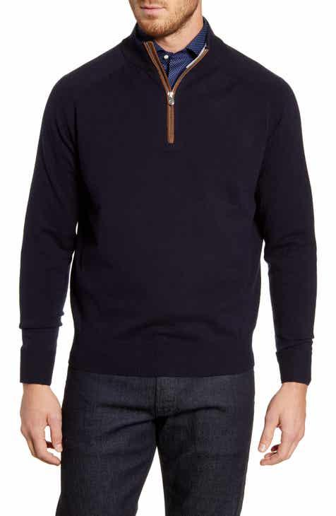 2812bd816 Peter Millar Sonoma Quarter Zip Merino Wool Blend Pullover