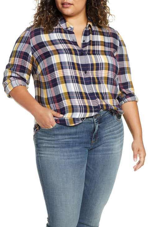 2fed0703d Women's Plus-Size Tops | Nordstrom