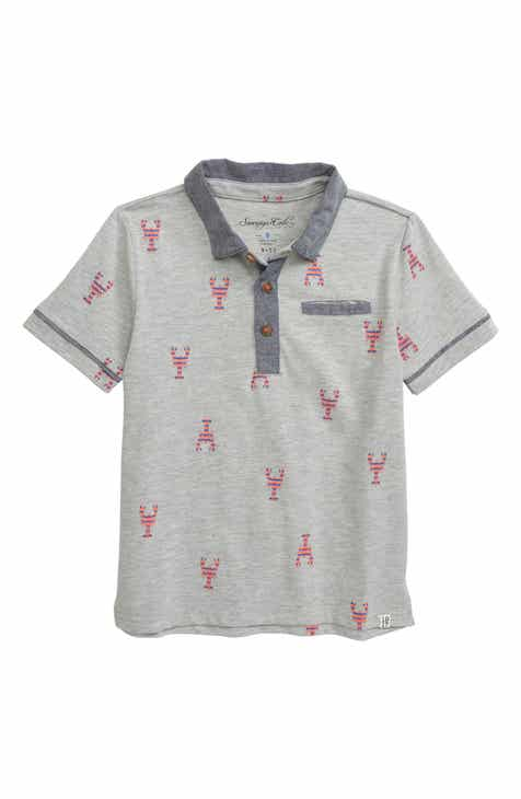 43fd8b331 Sovereign Code Lobsta Print Pocket Polo (Toddler Boys & Little Boys).  $28.00. Product Image