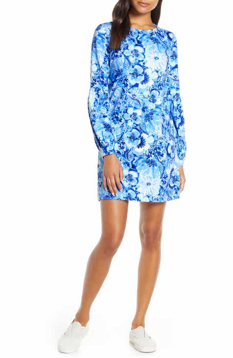 Lilly Pulitzer® Bartlett Long Sleeve Sweatshirt Dress