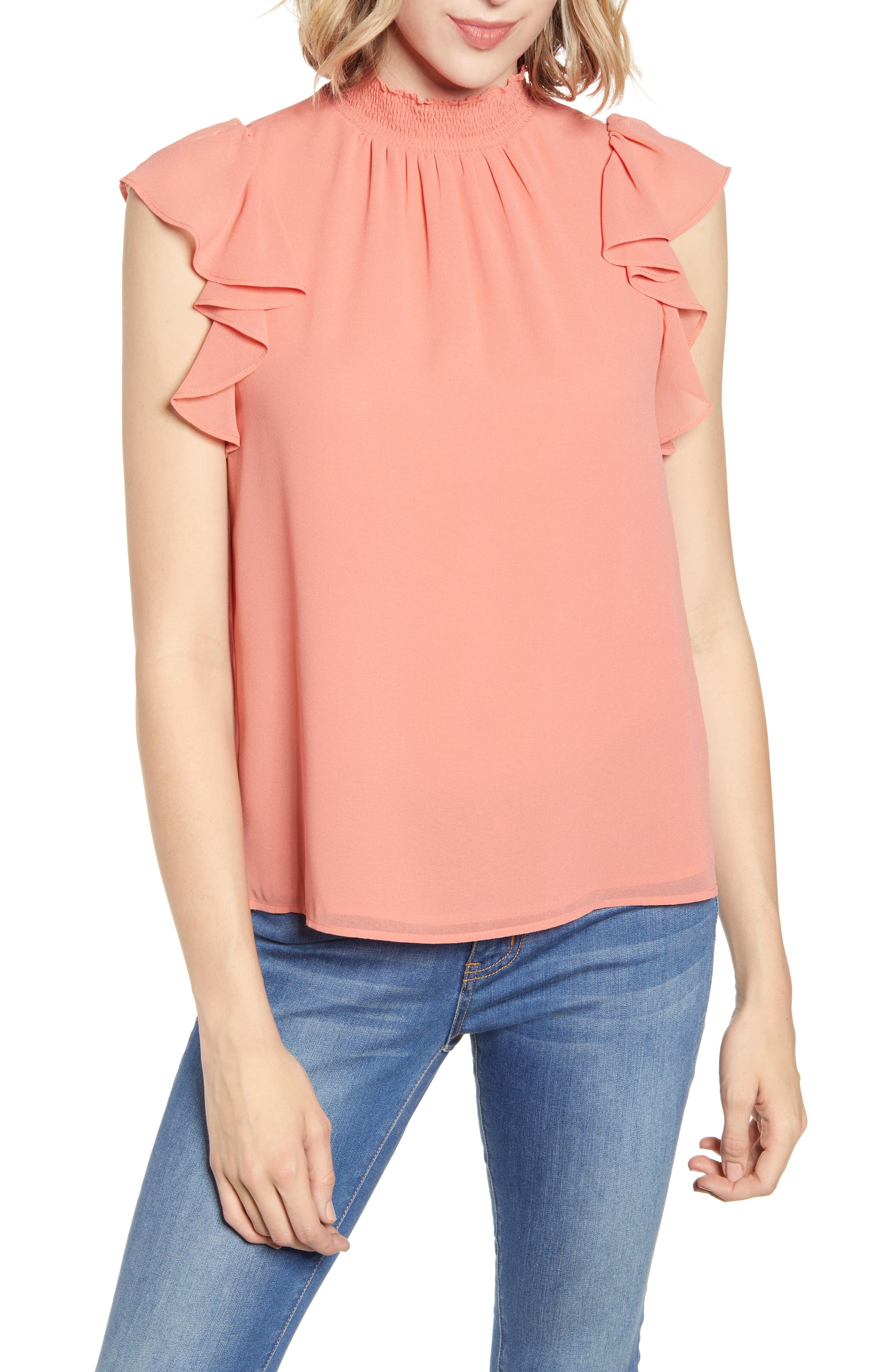 20c523d8819 Women's Mock Neck Tops | Nordstrom