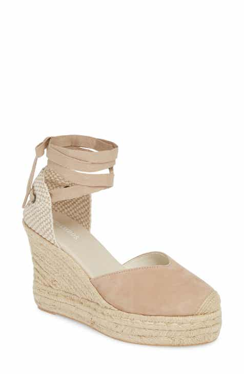 977a020a90 Soludos Mallorca Lace-Up Espadrille Wedge Sandal (Women)