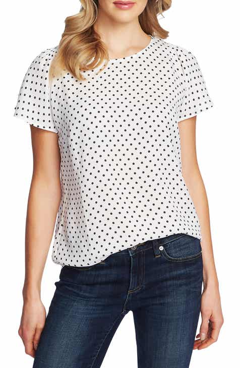 2e05a5ba womens polka dot blouse   Nordstrom