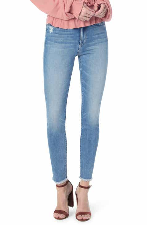Veronica Beard Beverly Skinny Flare Jeans (Raven) By VERONICA BEARD by VERONICA BEARD Design