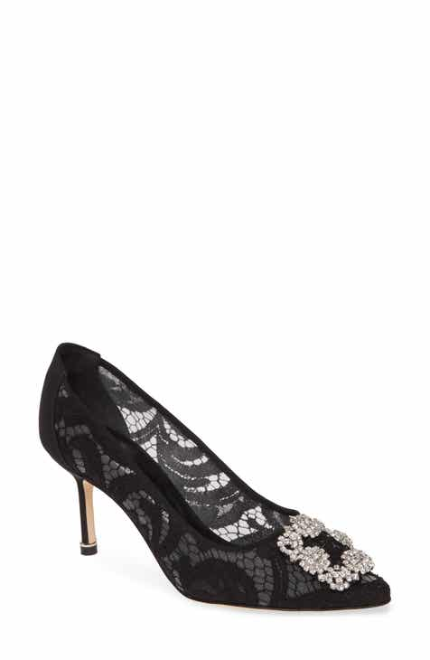 0dd9989638faa Manolo Blahnik 'Hangisi' Pointy Toe Pump (Women)