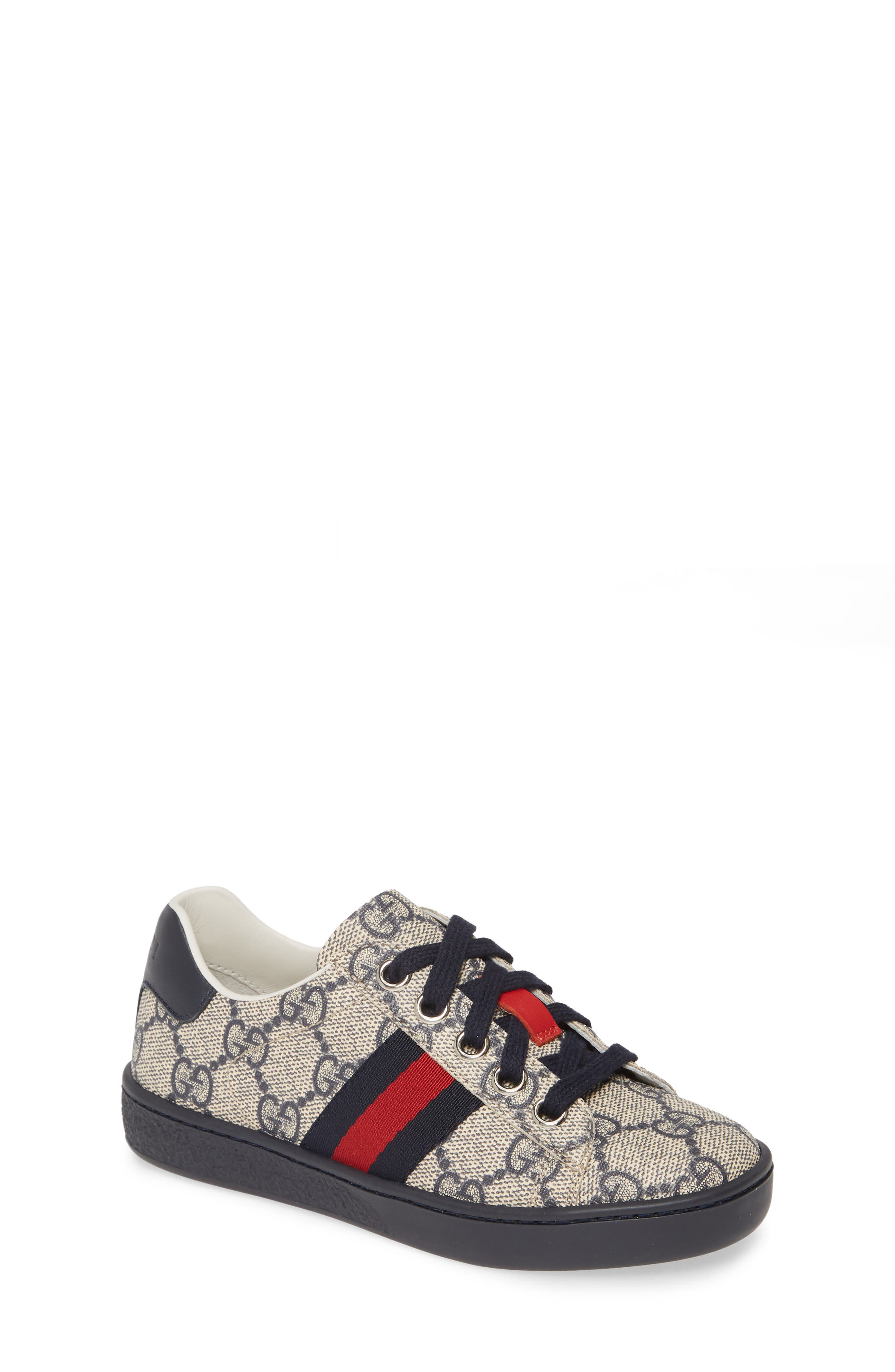 Toddler Gucci Shoes (Sizes 7.5,12)