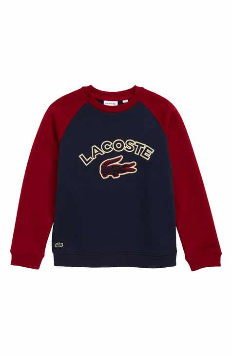 b875e6220d Kids' Lacoste Apparel: T-Shirts, Jeans, Pants & Hoodies | Nordstrom
