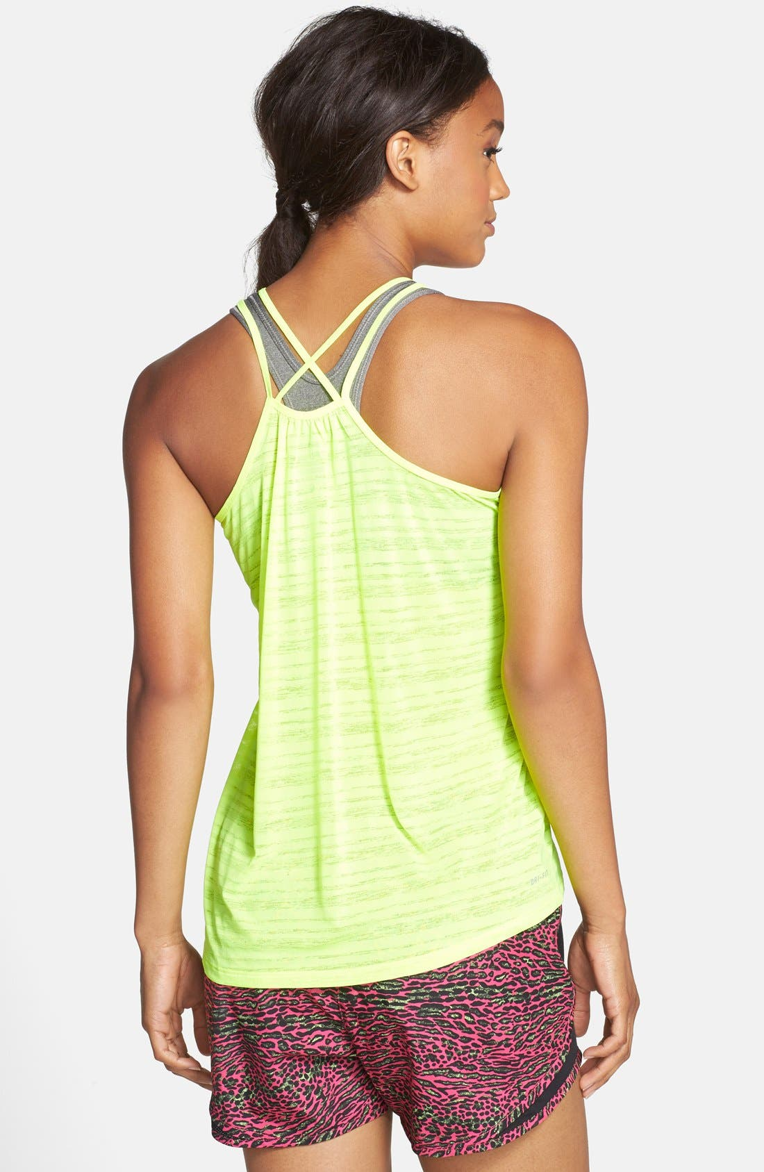 Alternate Image 2  - Nike 'Cool Breeze' Dri-FIT Strappy Running Tank