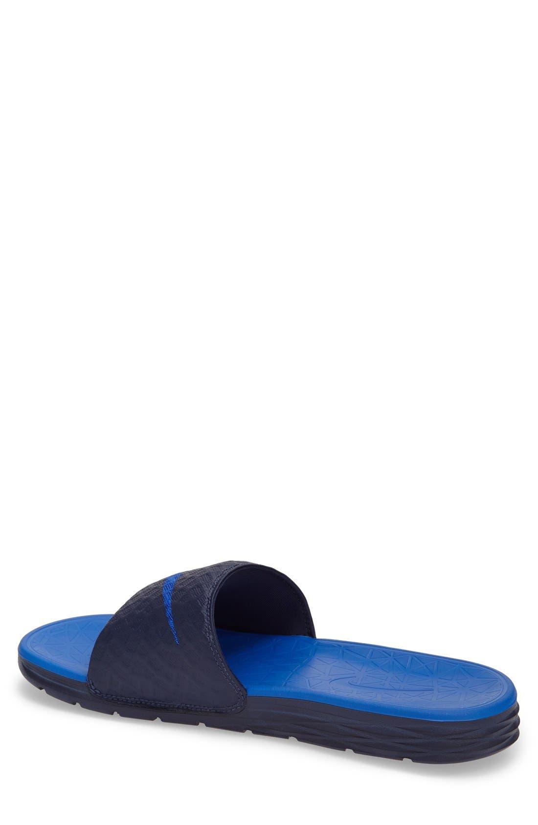 Alternate Image 2  - Nike 'Benassi Solarsoft 2' Slide Sandal (Men)