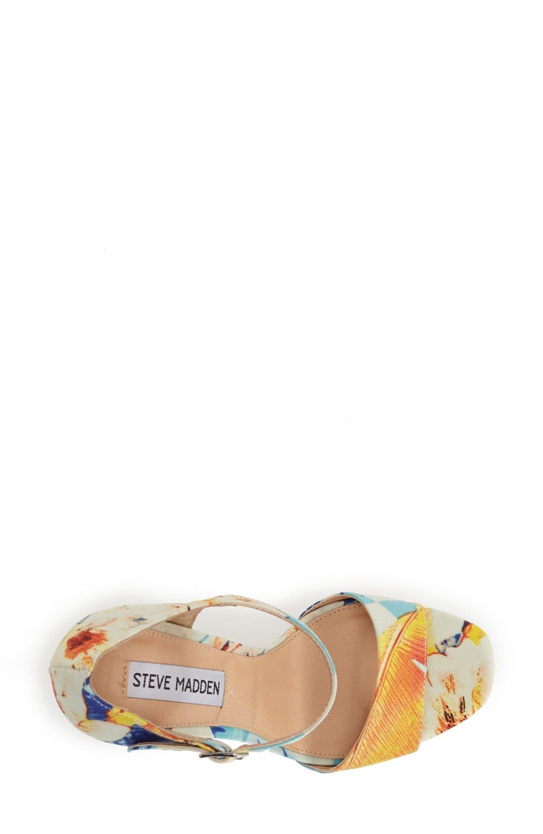 Alternate Image 3  - Steve Madden 'Presae' Platform Sandal (Women)