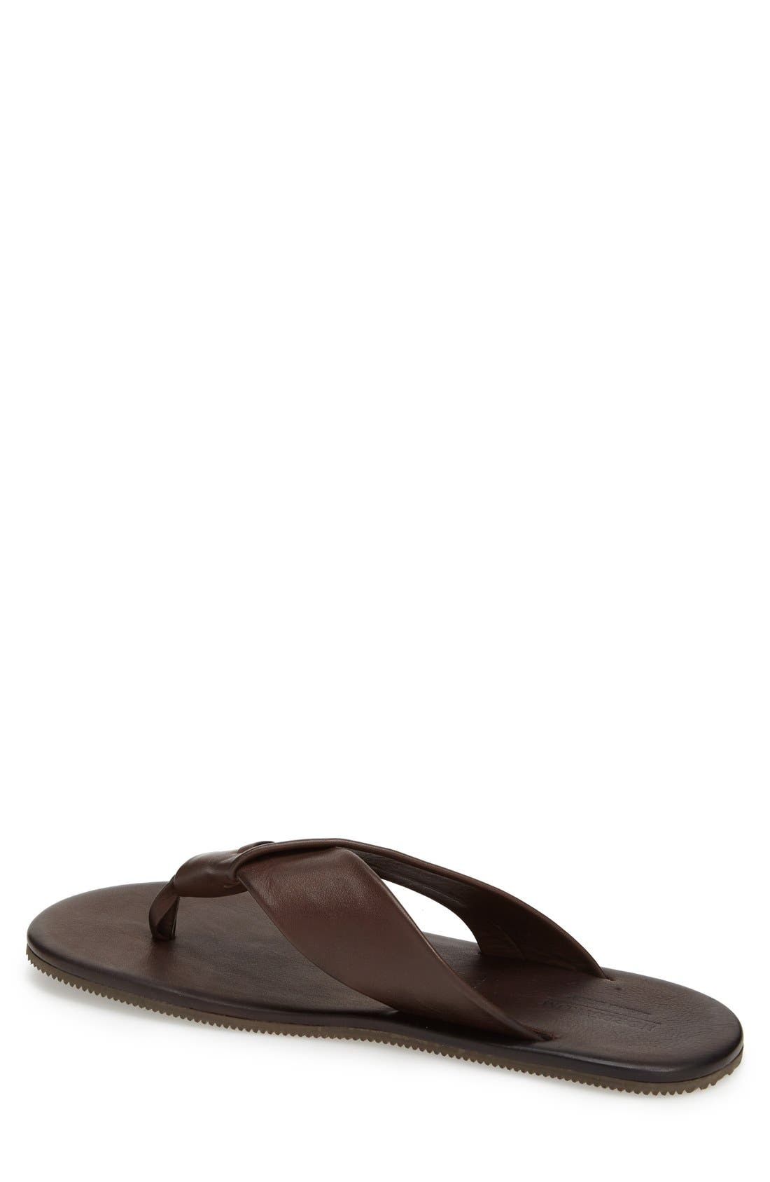 'Breeze' Flip Flop,                             Alternate thumbnail 2, color,                             Brown