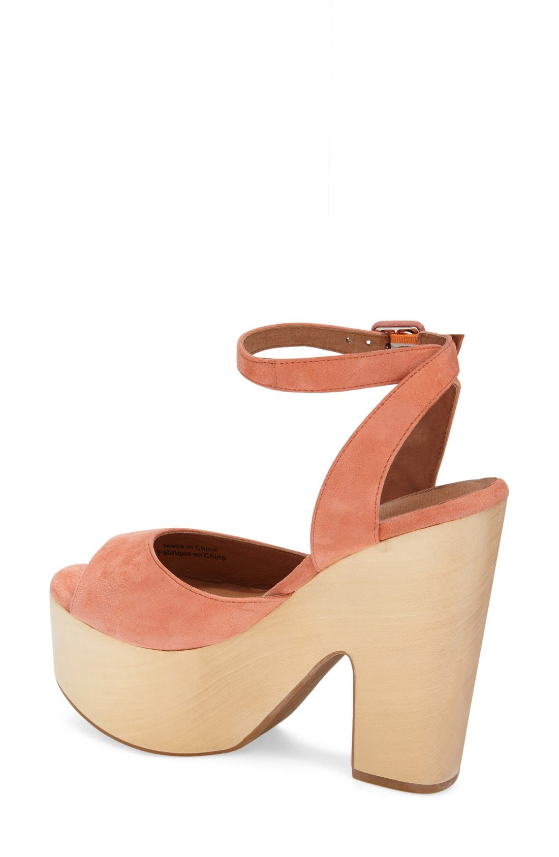 Alternate Image 2  - Jeffrey Campbell 'Sassy' Wood Platform Sandal (Women)