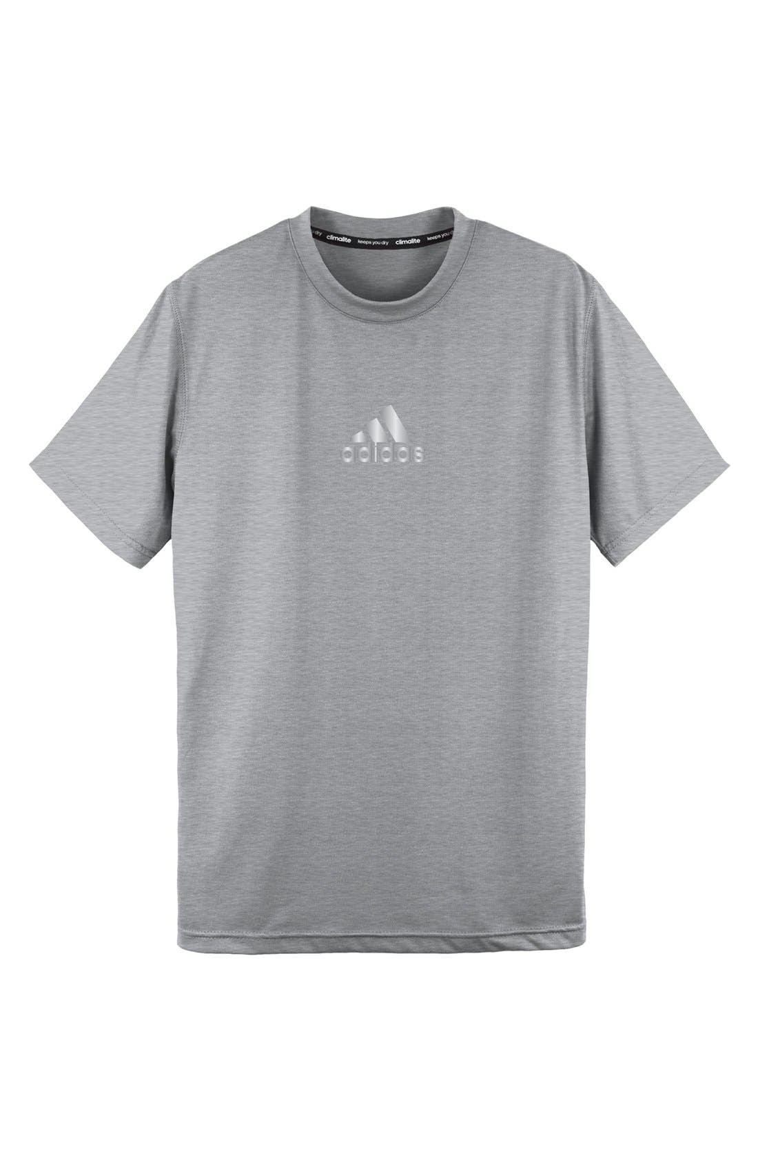 Alternate Image 1 Selected - adidas 'Ultimate' T-Shirt (Big Boys)