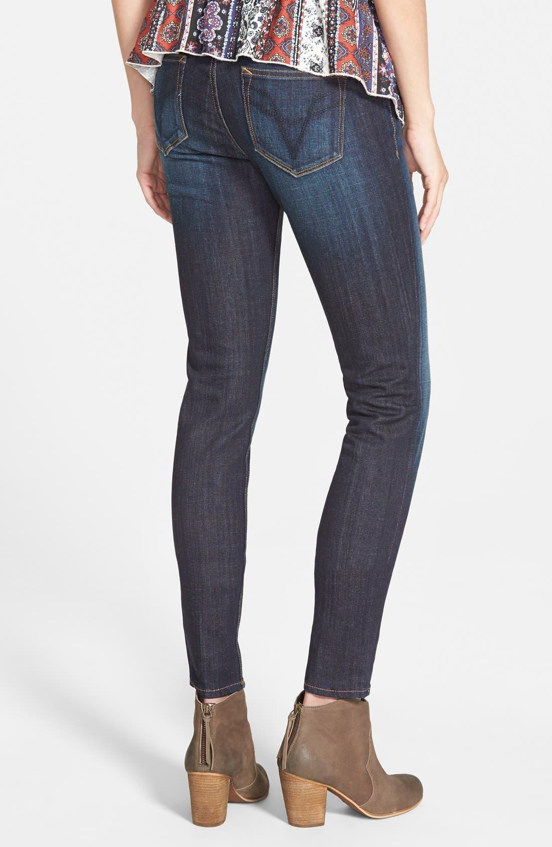 Alternate Image 2  - Vigoss 'Chelsea' Skinny Jeans (Dark Wash)