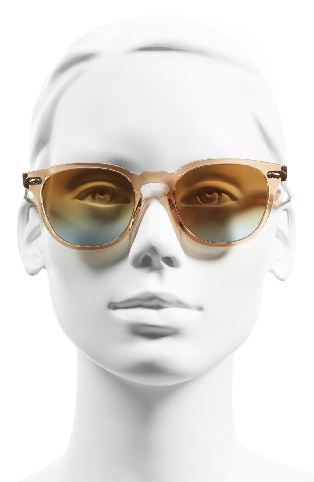 Alternate Image 2  - Oliver Peoples 'Sheldrake Plus' 52mm Retro Sunglasses
