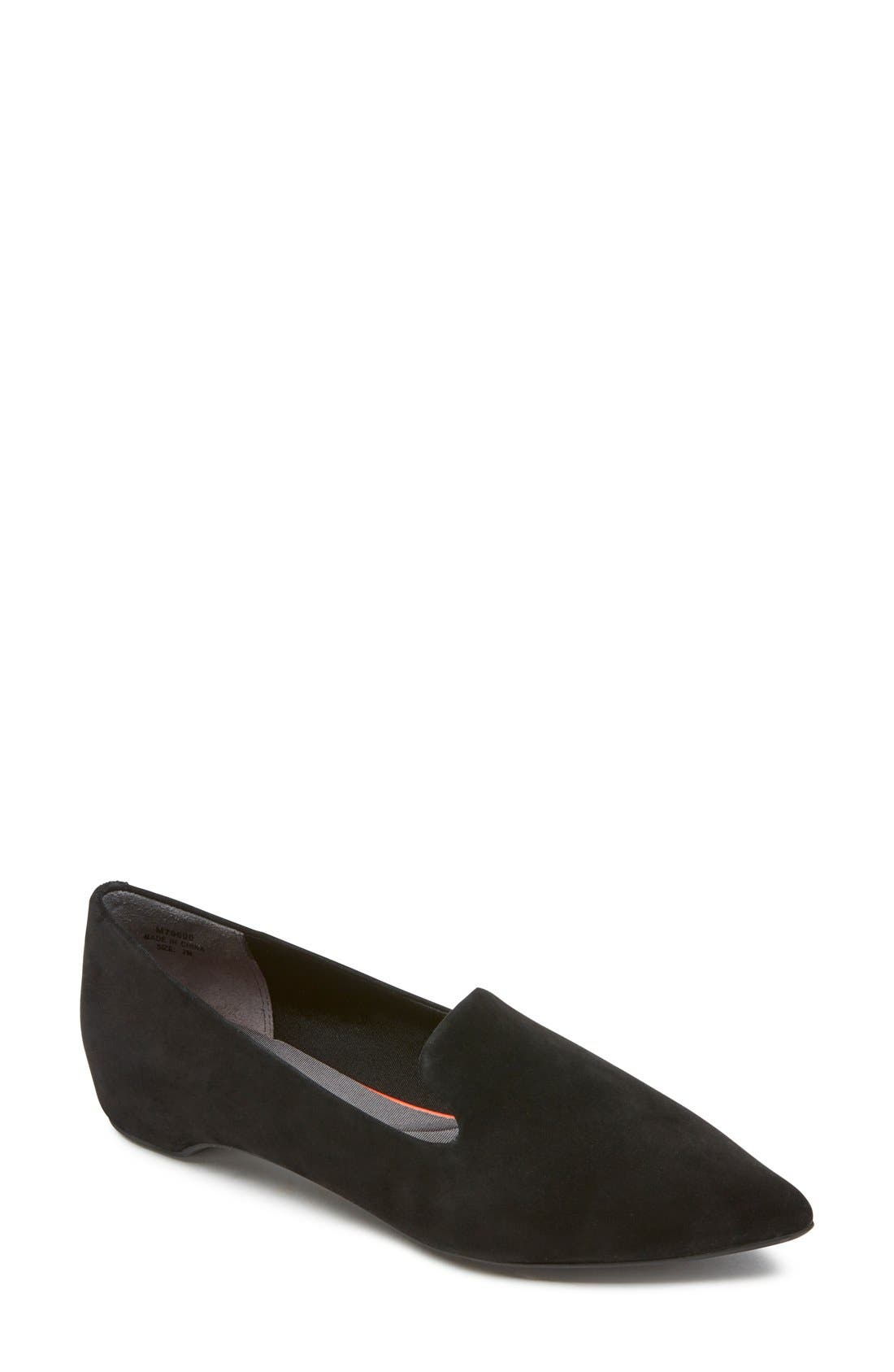 Alternate Image 1 Selected - Rockport 'Total Motion' Smoking Loafer (Women)