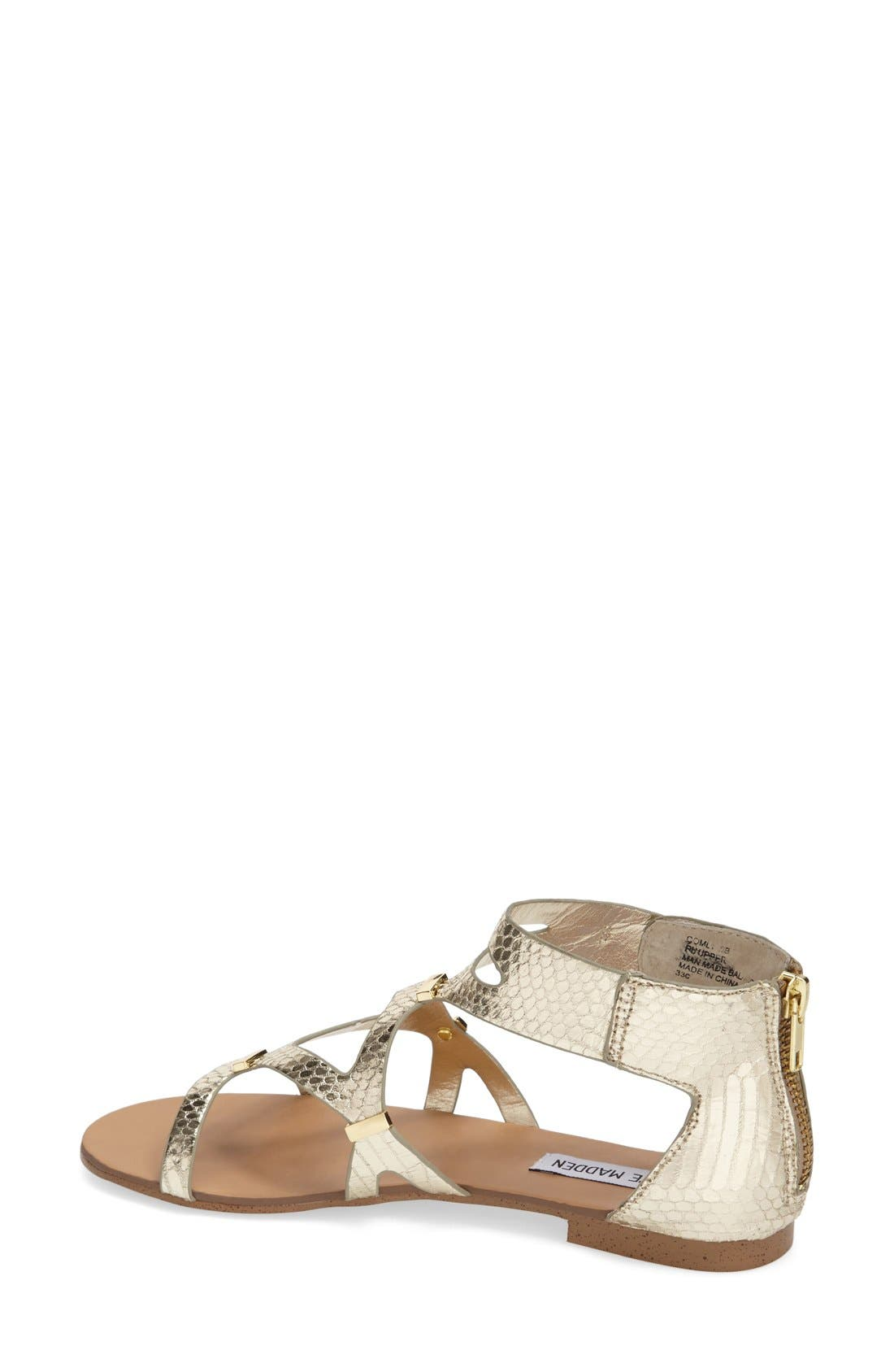 Alternate Image 3  - Steve Madden 'Comly' Gladiator Sandal (Women)