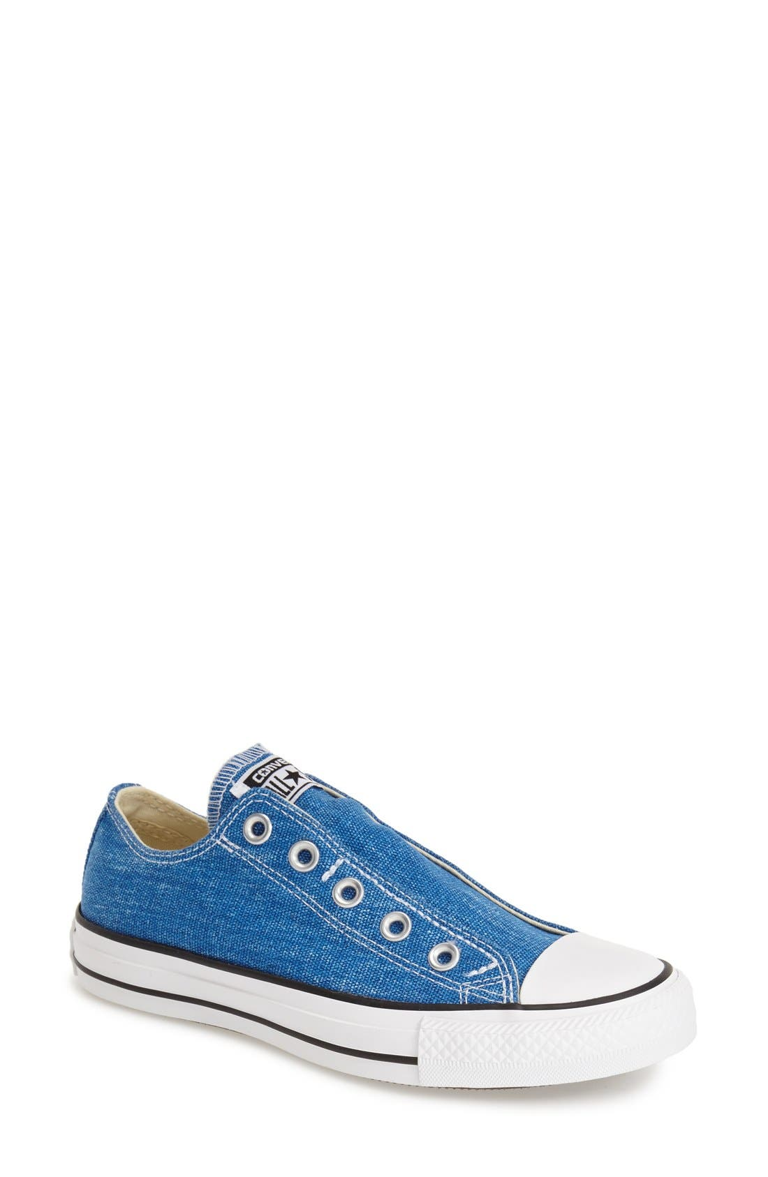 Alternate Image 1 Selected - Converse Chuck Taylor® All Star® 'Washed' Slip-On (Women)
