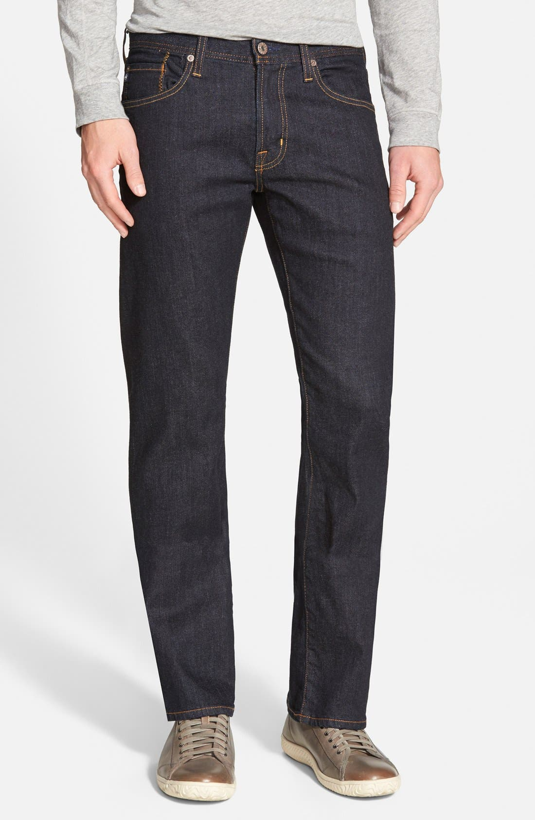 Protégé Straight Leg Jeans,                             Main thumbnail 1, color,                             Jack